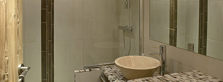 Travaux d 39 am nagement et de r novation d 39 appartements l for Travaux douche italienne